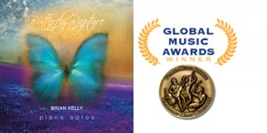 Brian Kelly wins Global Music Awards Bronze Medal