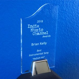 Brian Kelly wins 2018 Indie Music Channel Award for Best Instrumental Song
