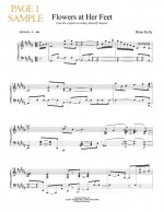 Flowers at Her Feet - Sheet Music - Brian Kelly music