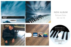 Tomorrow's Daydream Brian Kelly CD ecowallet artwork